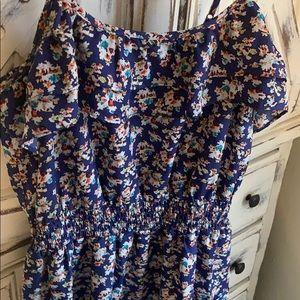 Super cute 🌻 periwinkle blue summer ruffle dress